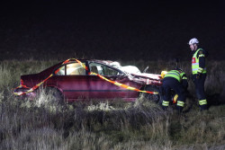 Tva skadade efter bilolycka i goteborg